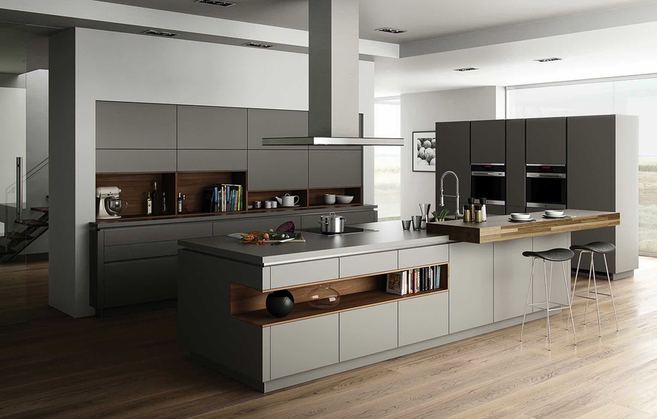 Conoce la tendencia de cocinas modernas que existe en gran for Decoracion de cocinas modernas fotos