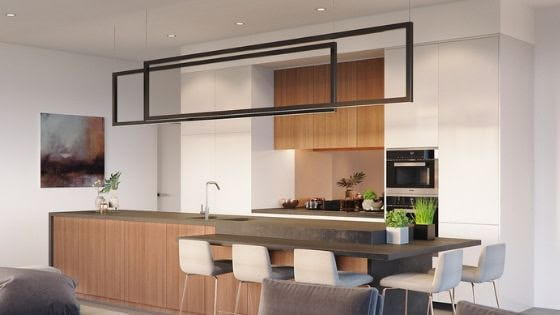 Elementos clave en el diseño de cocinas modernas pequeñas ...